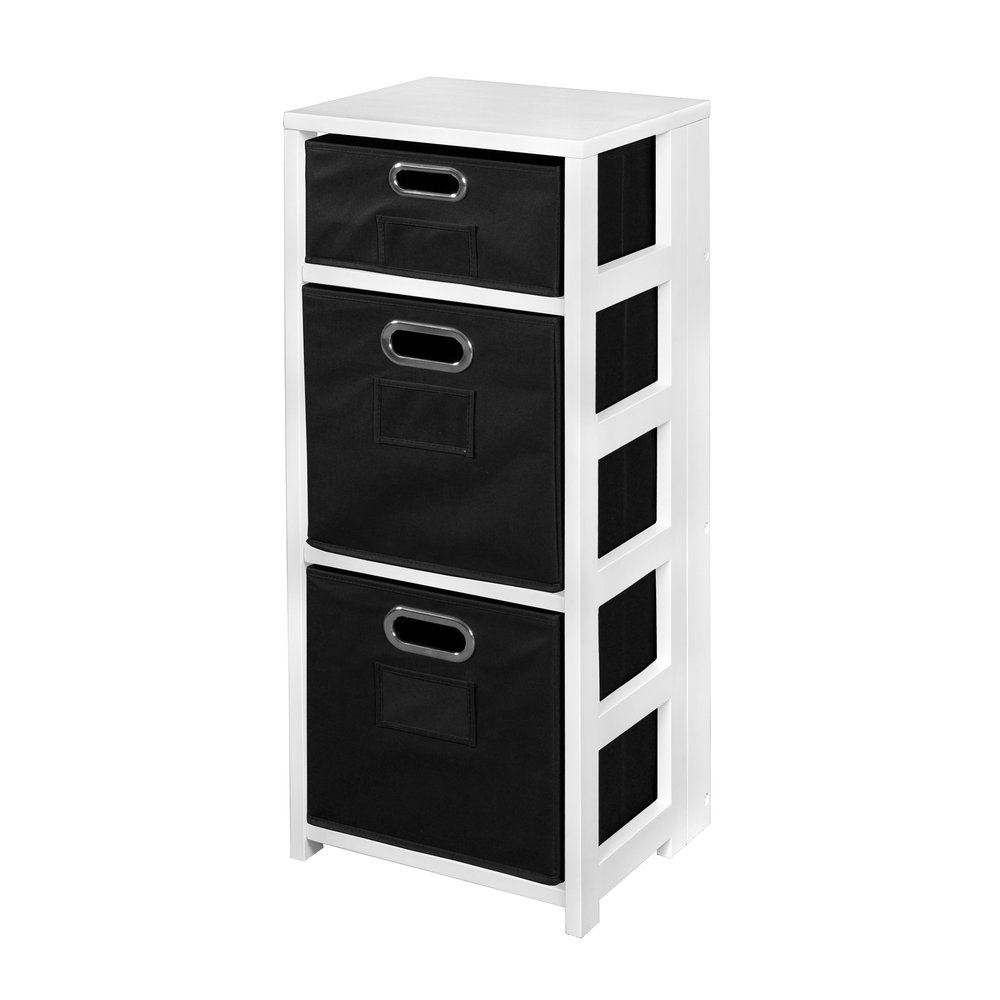 Flip Flop 34 Quot Square Folding Bookcase With Folding Fabric