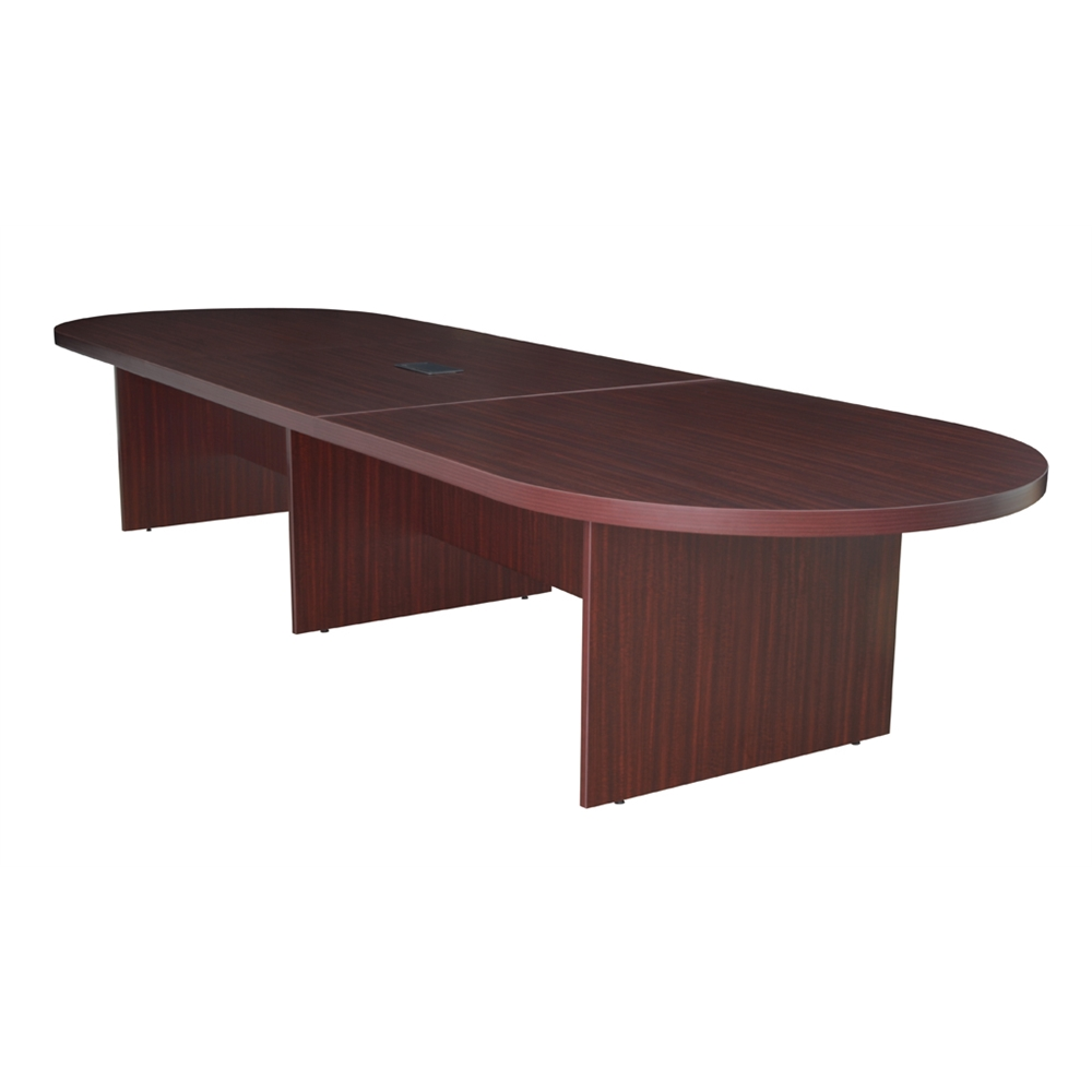 Legacy Modular Racetrack Conference Table With Power Data - Conference table grommet