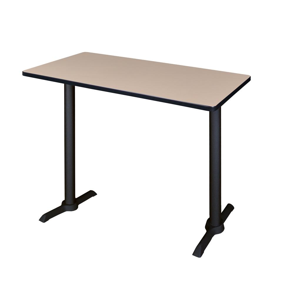 Cain X Café Training Table Beige - Lorell flipper training table
