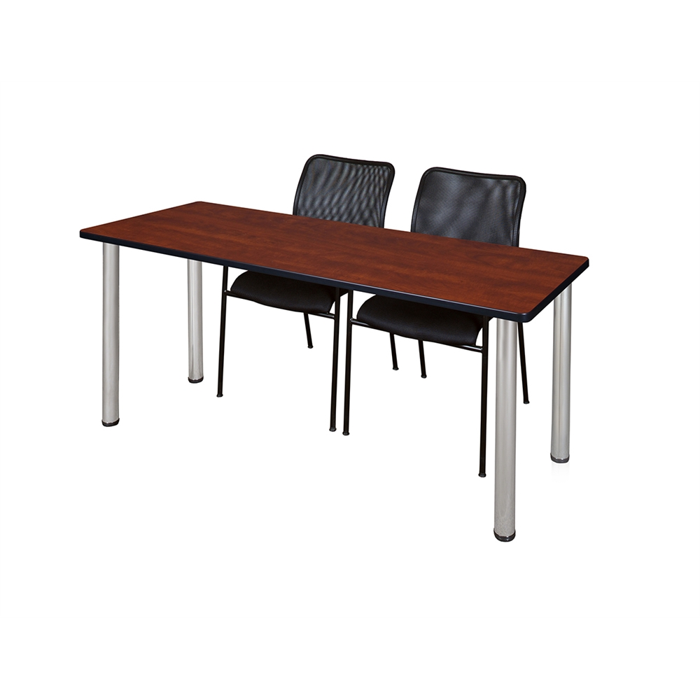 Stacking Tv Tables ~ Quot kee training table cherry chrome mario