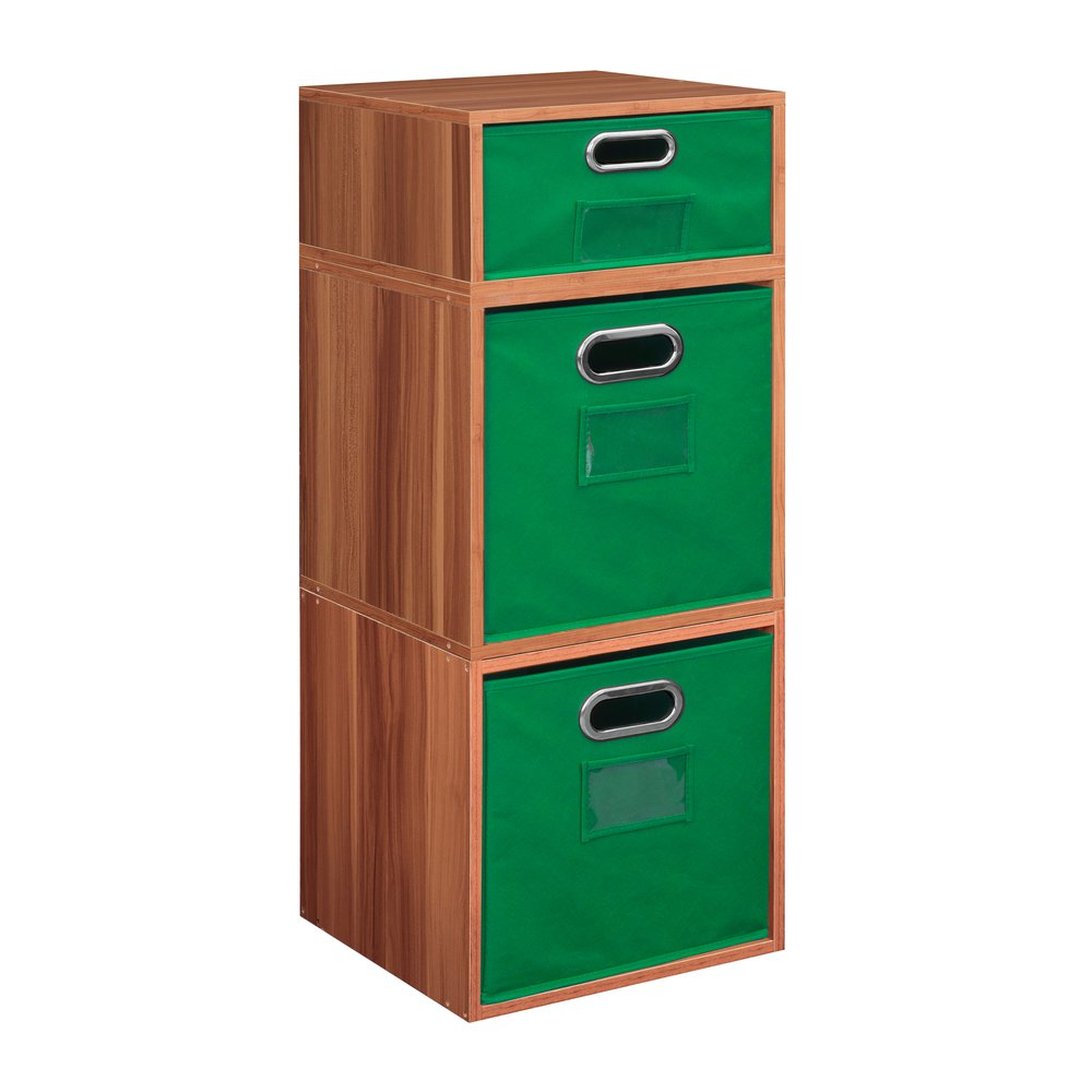 Niche Cubo Storage Set 2 Full Cubes 1 Half Cube With