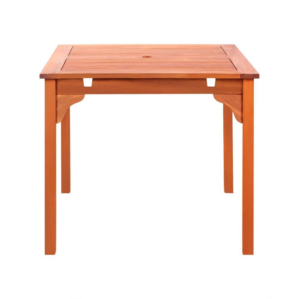 Malibu outdoor stacking table