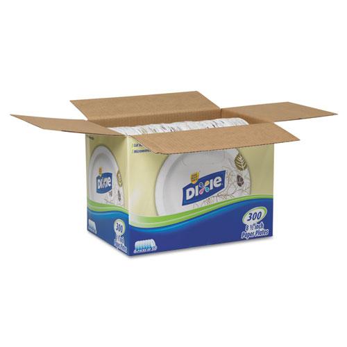 "Pathways Soak-Proof Shield Medium Wt Paper Plates, 8 1/2"", Dispenser Box, 600/Ct. Picture 5"