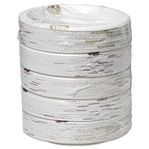 "Pathways Soak-Proof Shield Medium Wt Paper Plates, 8 1/2"", Dispenser Box, 600/Ct. Picture 6"