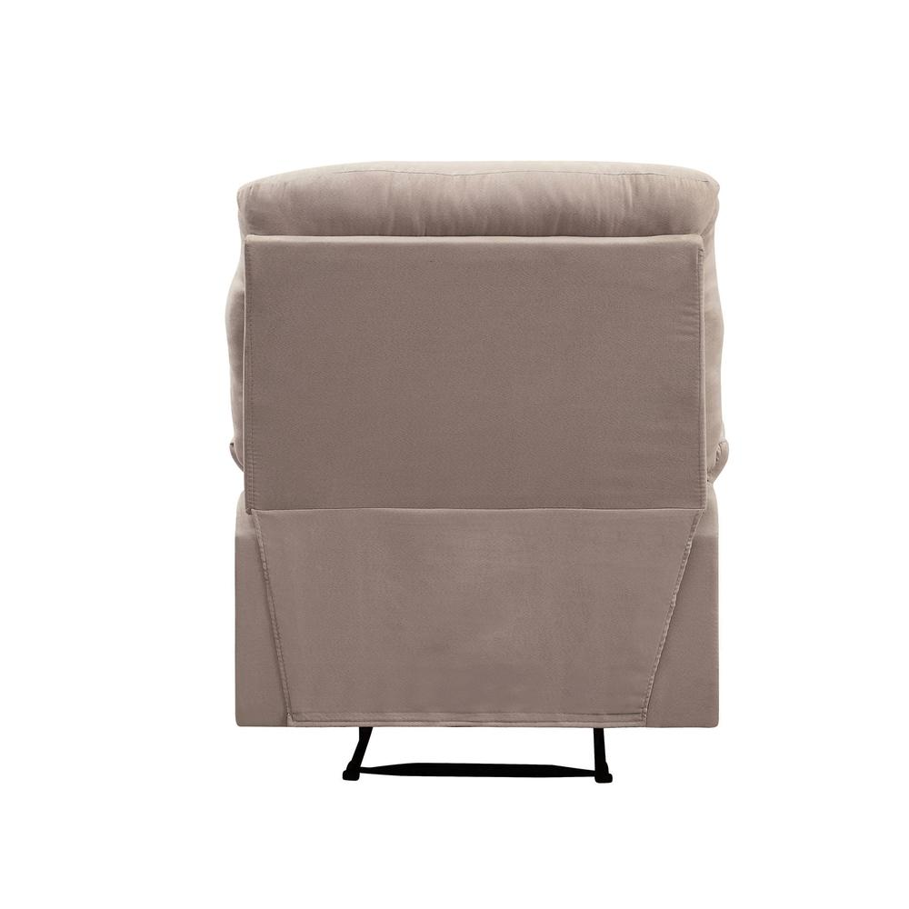 Arcadia Recliner, Beige Fabric. Picture 17
