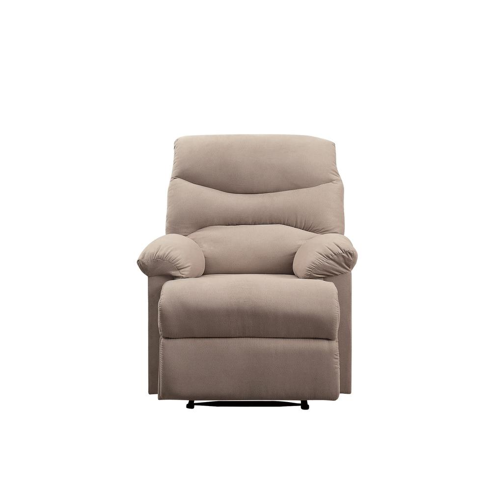 Arcadia Recliner, Beige Fabric. Picture 19