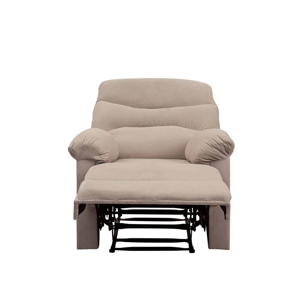 Arcadia Recliner, Beige Fabric. Picture 21