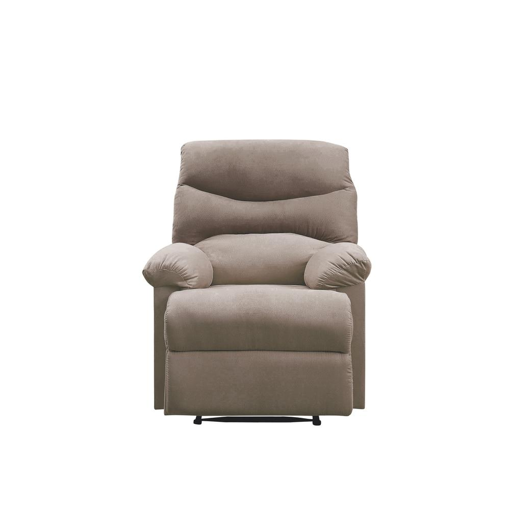 Arcadia Recliner, Beige Fabric. Picture 28