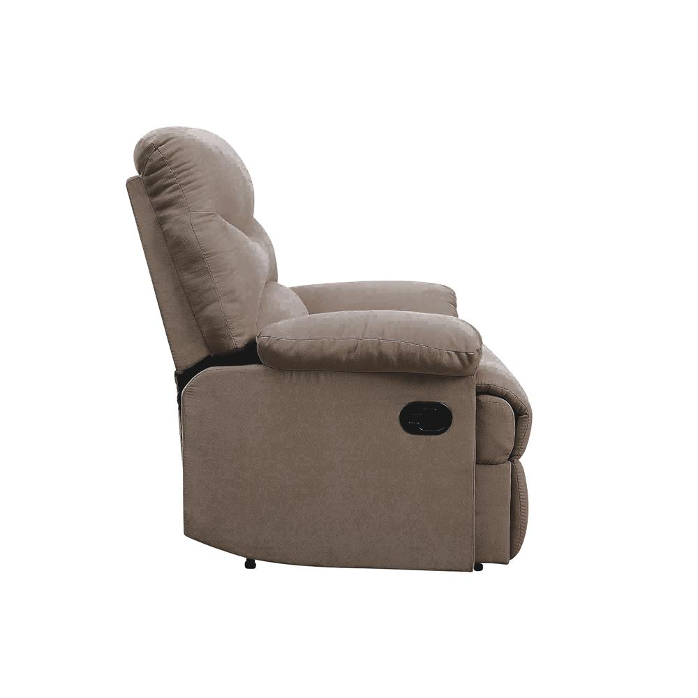 Arcadia Recliner, Beige Fabric. Picture 29
