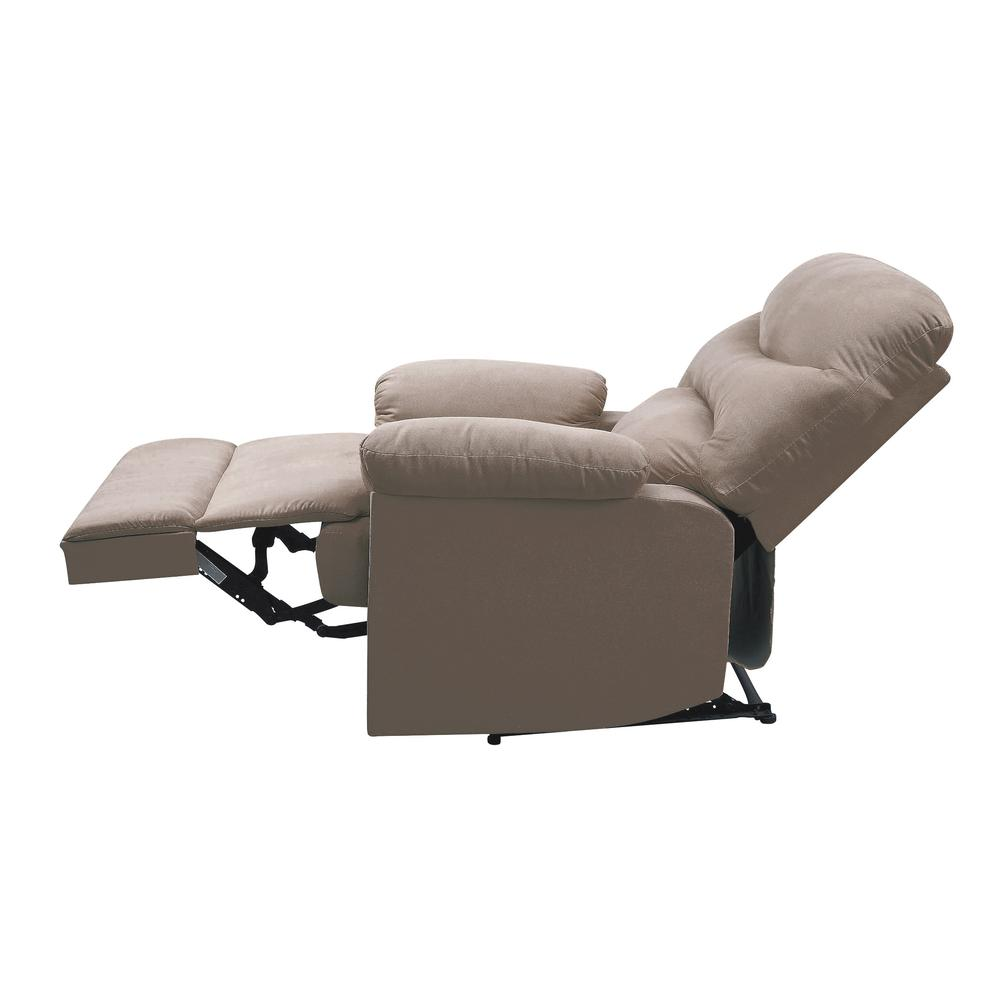 Arcadia Recliner, Beige Fabric. Picture 30
