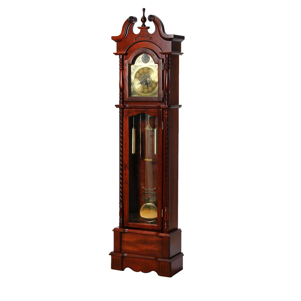 Broadmoor Grandfather Clock, Walnut. The main picture.