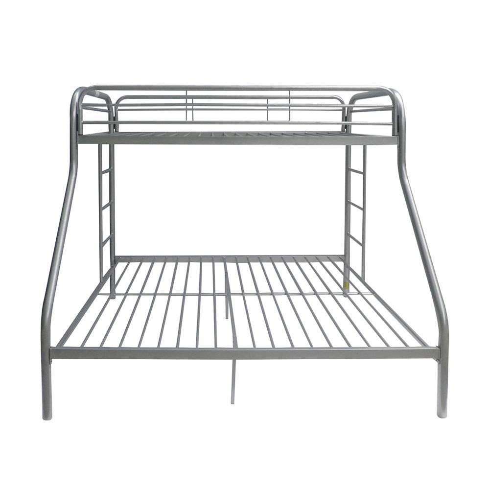 Tritan Twin XL/Queen Bunk Bed, Silver. Picture 4