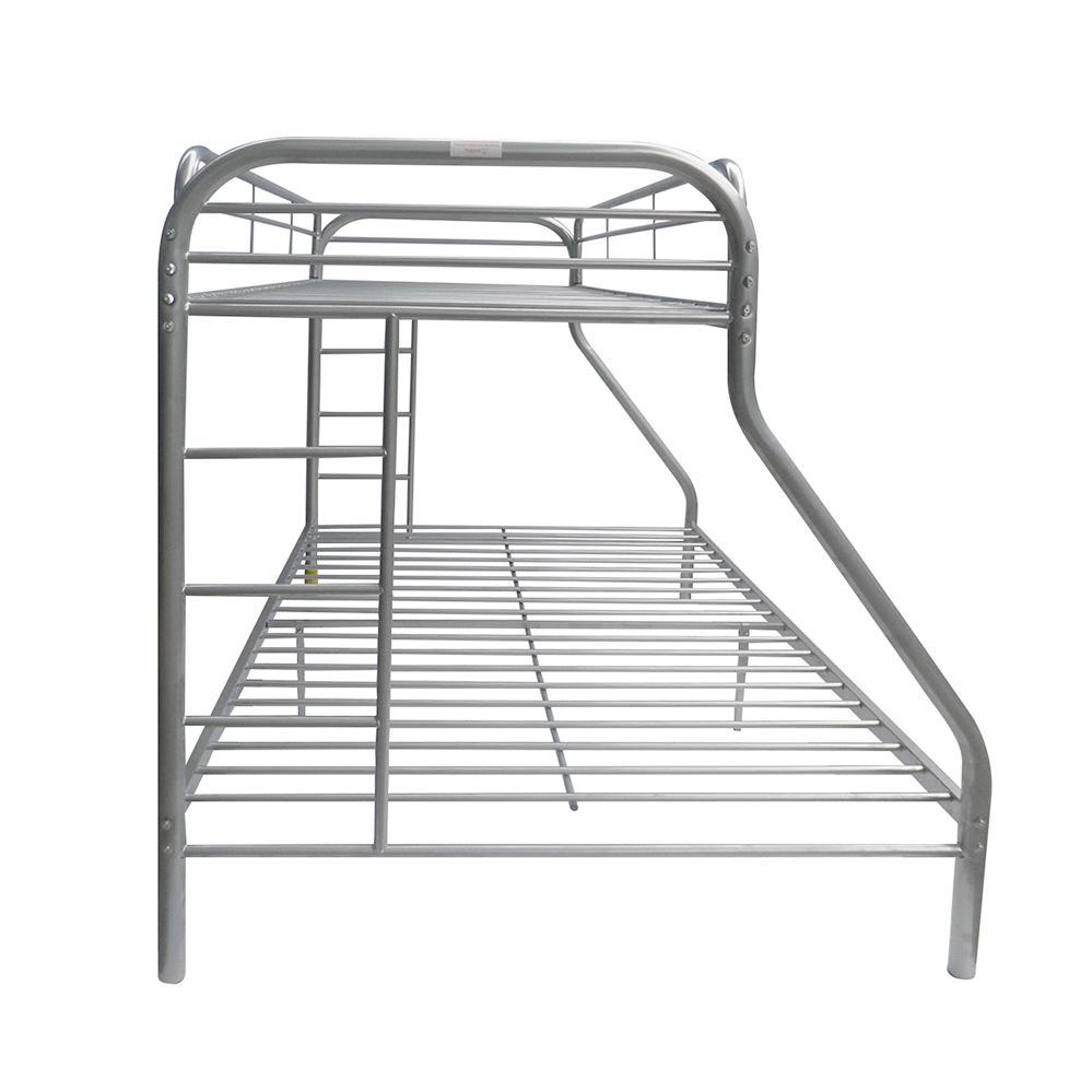 Tritan Twin XL/Queen Bunk Bed, Silver. Picture 5