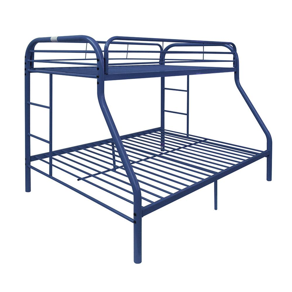 Tritan Twin/Full Bunk Bed, Blue. Picture 1
