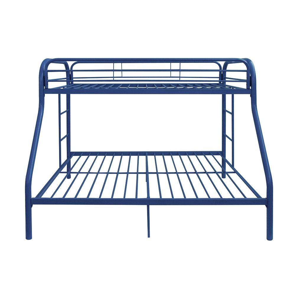 Tritan Twin/Full Bunk Bed, Blue. Picture 3