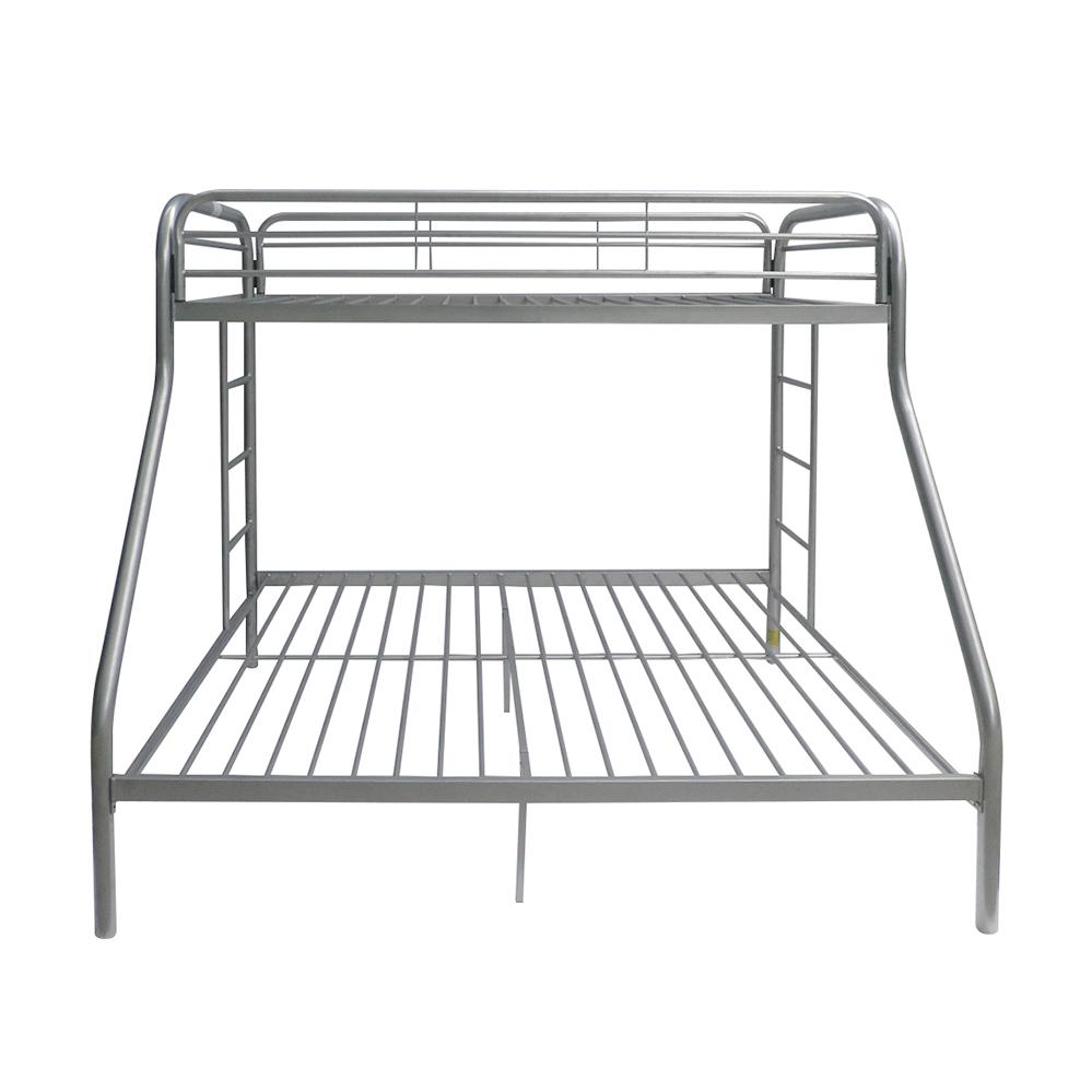 Tritan Twin/Full Bunk Bed, Silver. Picture 4