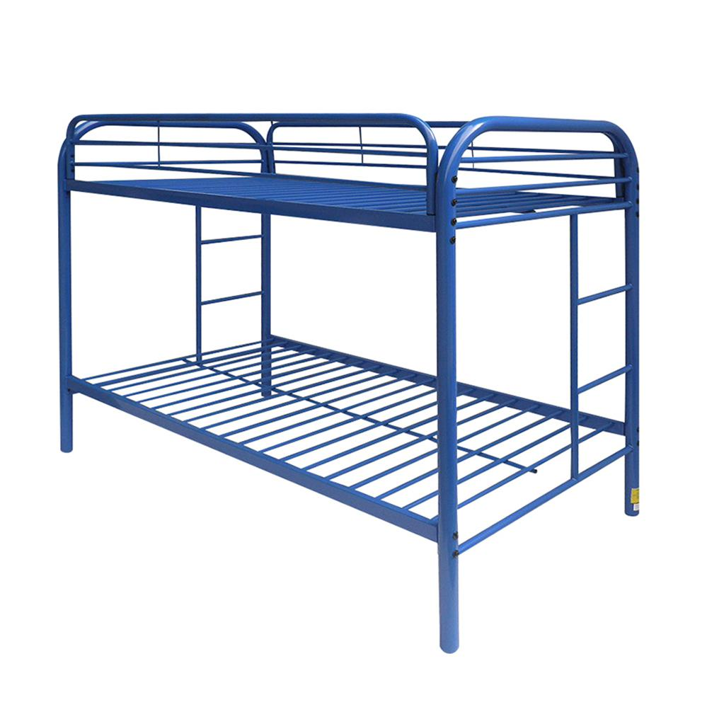 Thomas Twin/Twin Bunk Bed, Blue. Picture 1