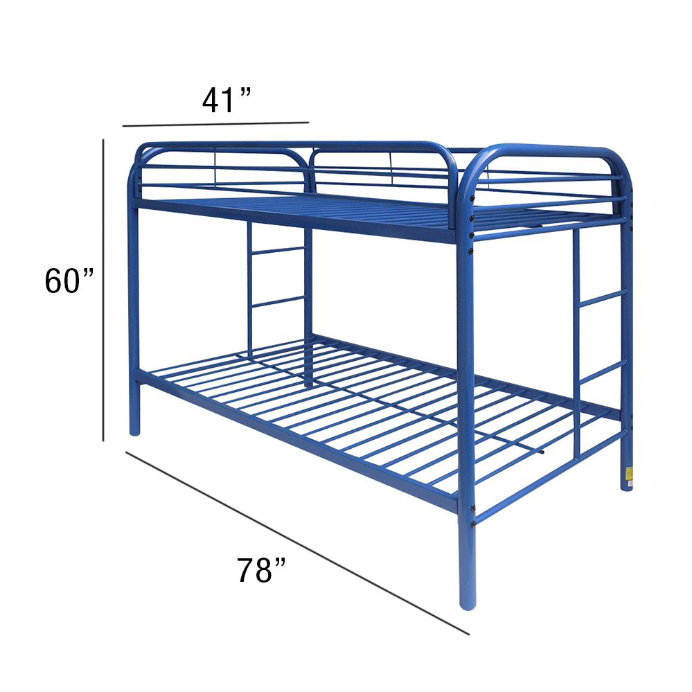 Thomas Twin/Twin Bunk Bed, Blue. Picture 2