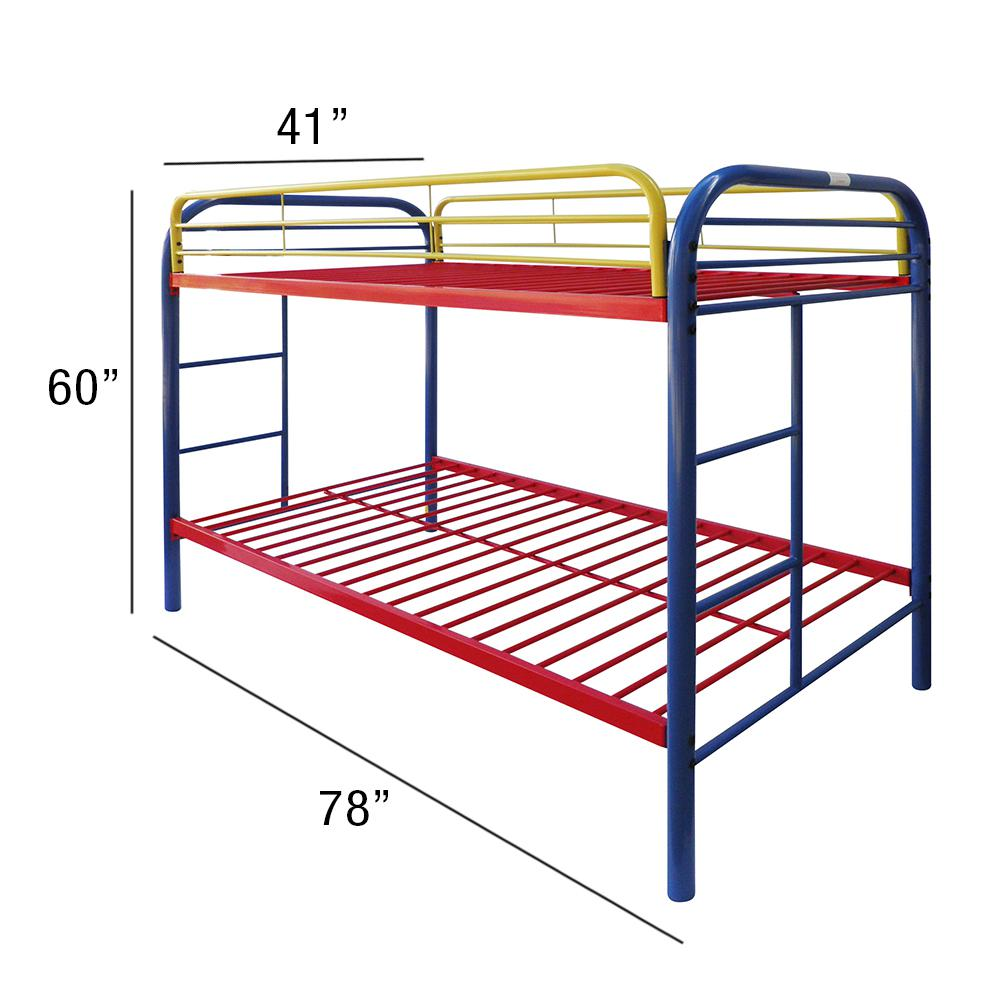 Thomas Twin/Twin Bunk Bed, Rainbow. Picture 2