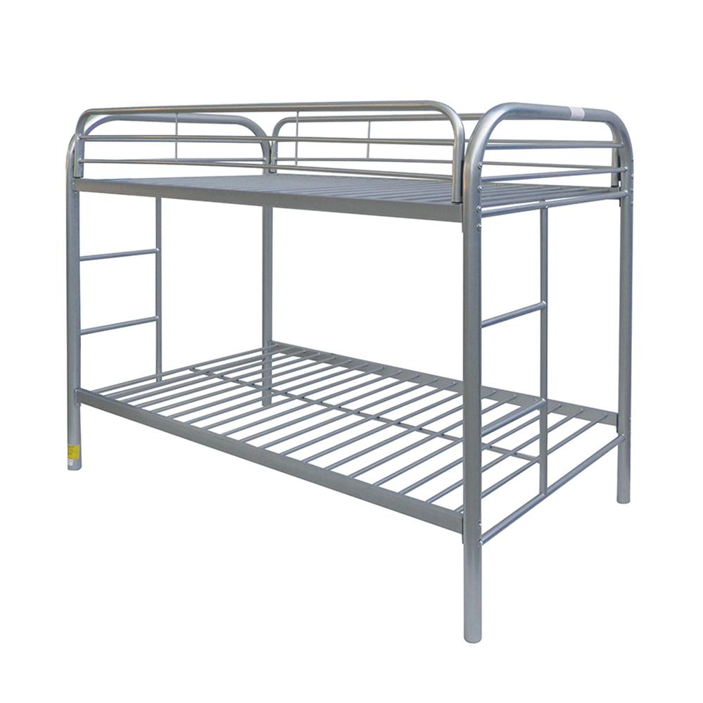 Thomas Twin/Twin Bunk Bed, Silver. Picture 1