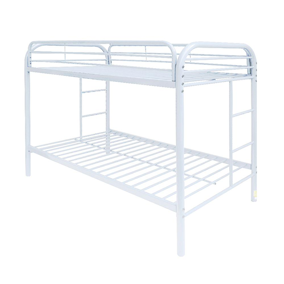 Thomas Twin/Twin Bunk Bed, White. Picture 1