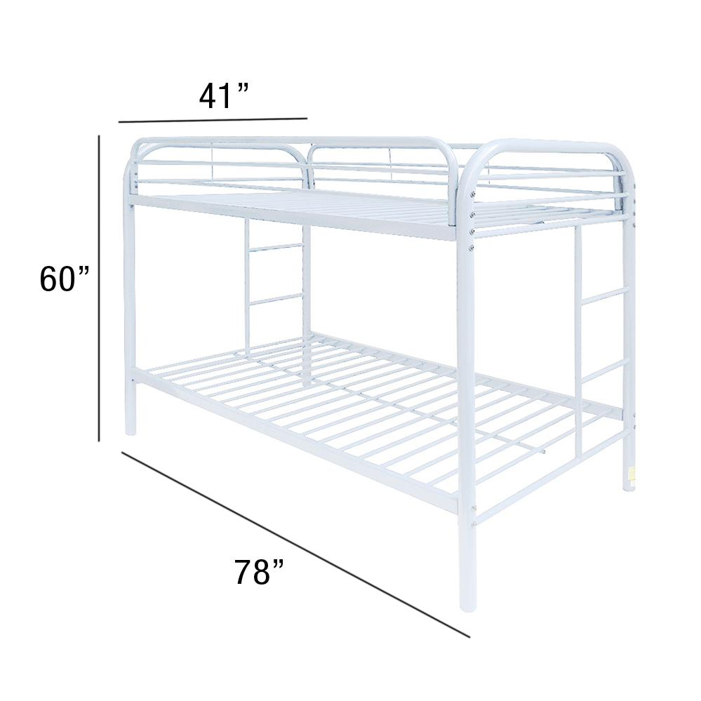 Thomas Twin/Twin Bunk Bed, White. Picture 2