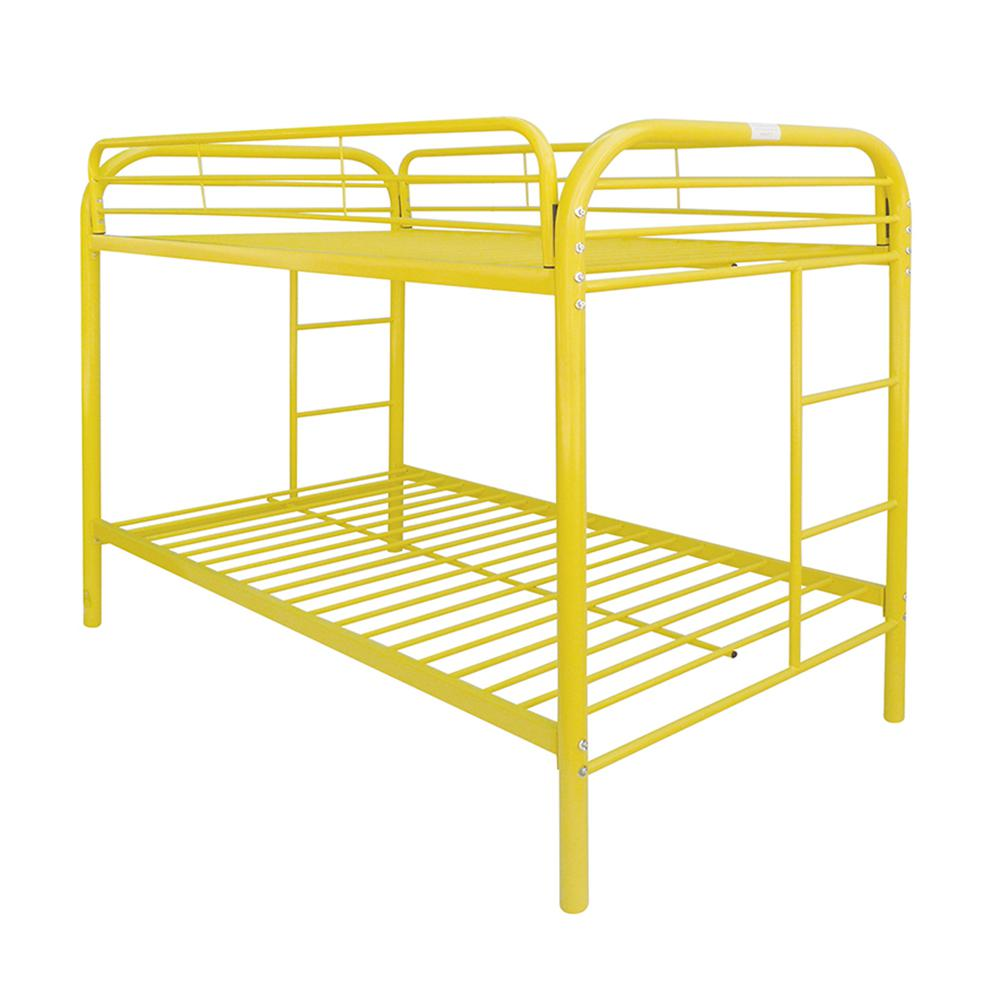 Thomas Twin/Twin Bunk Bed, Yellow. Picture 1
