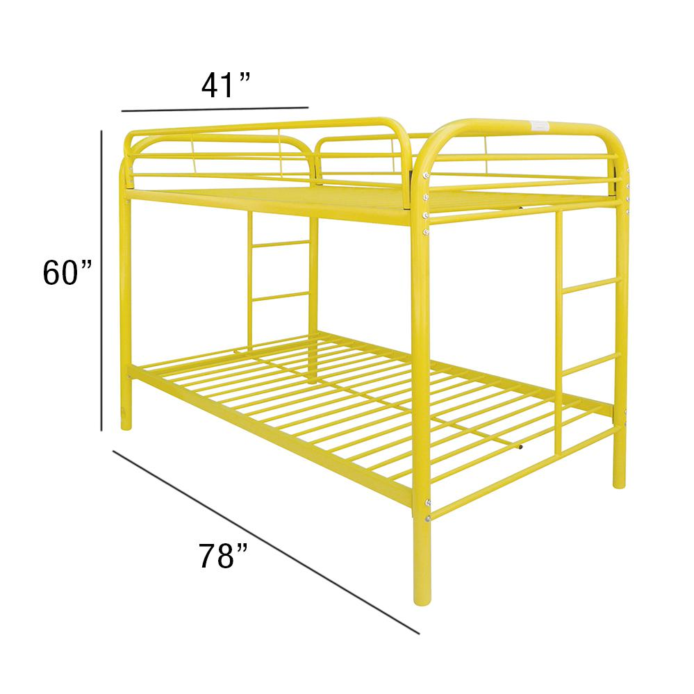 Thomas Twin/Twin Bunk Bed, Yellow. Picture 2