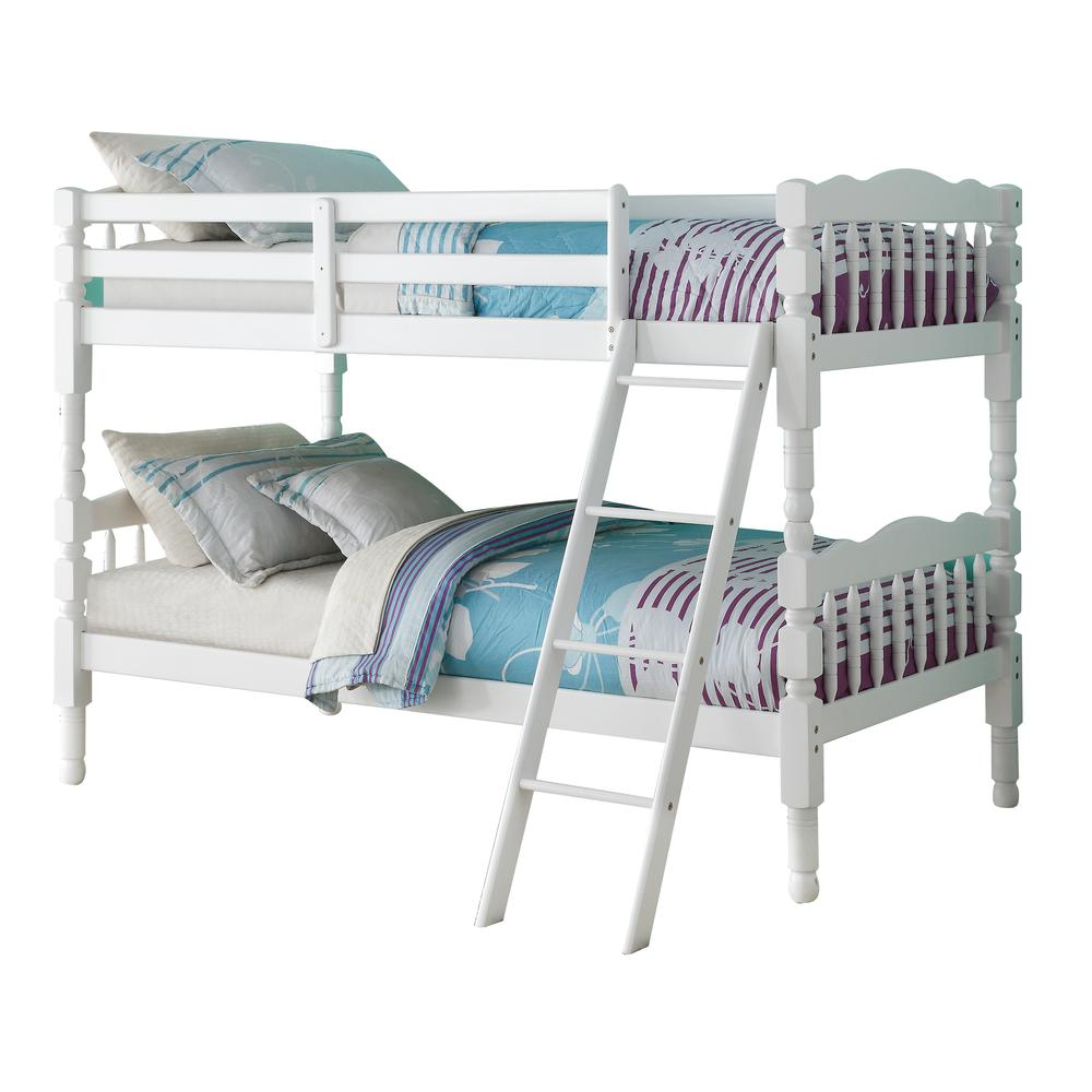 Homestead Full/Full Bunk Bed, Natural (1Set/2Ctn). Picture 2