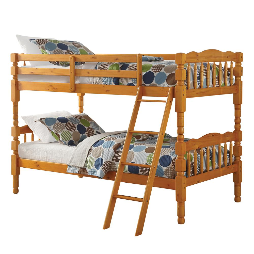 Homestead Full/Full Bunk Bed, Natural (1Set/2Ctn). Picture 5