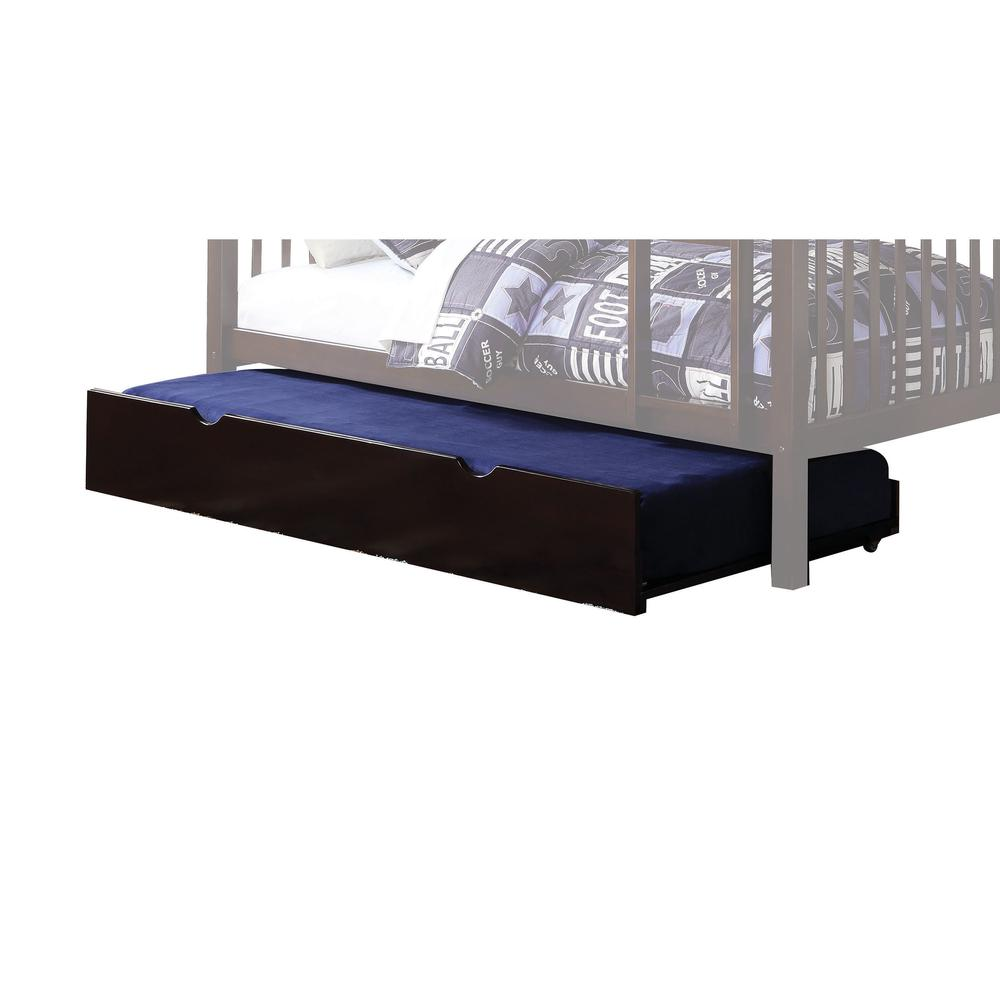 Heartland Twin/Twin Bunk Bed, Espresso (1Set/2Ctn). Picture 2