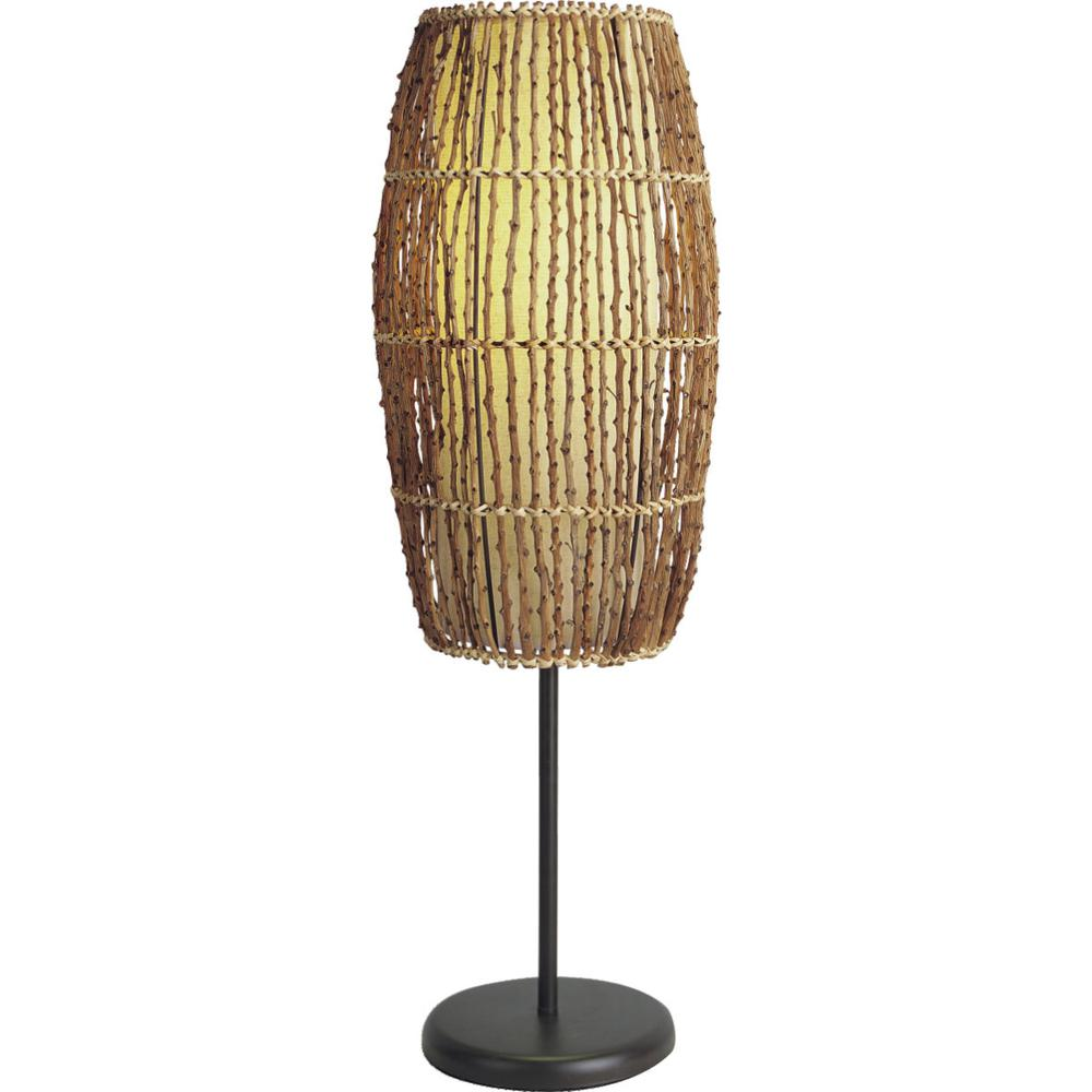 Bamboo Table Lamp. Picture 1