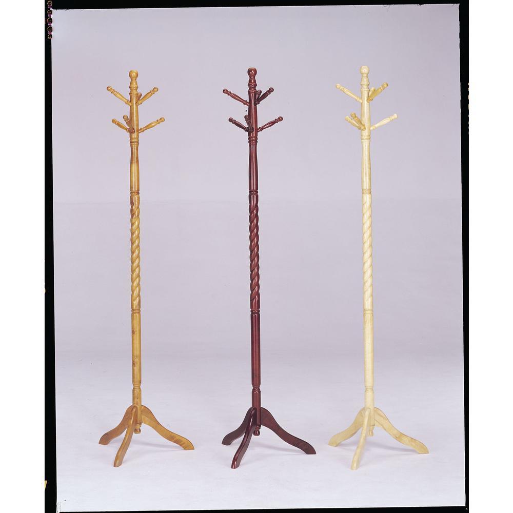 Grady Coat Rack (Set-4), Cherry. Picture 1