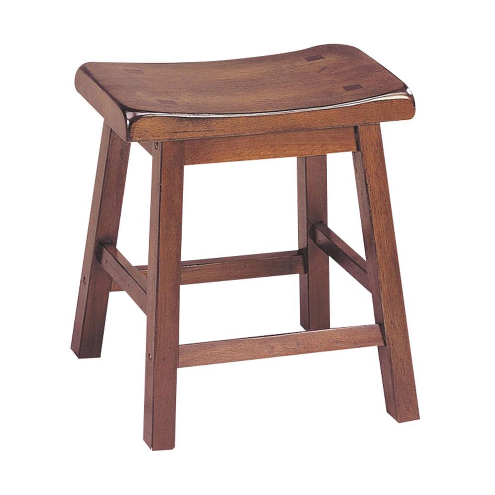 "Gaucho Stool (Set-2), Walnut, 18"" Seat Height. Picture 1"