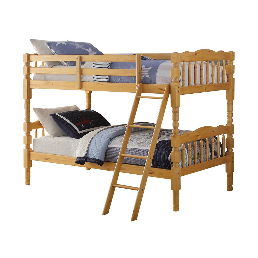 Homestead Twin/Twin Bunk Bed, Natural (1Set/2Ctn). Picture 1