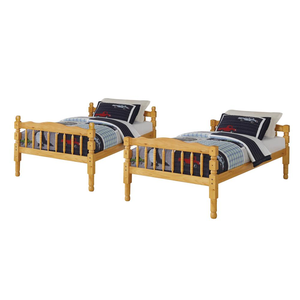 Homestead Twin/Twin Bunk Bed, Natural (1Set/2Ctn). Picture 2