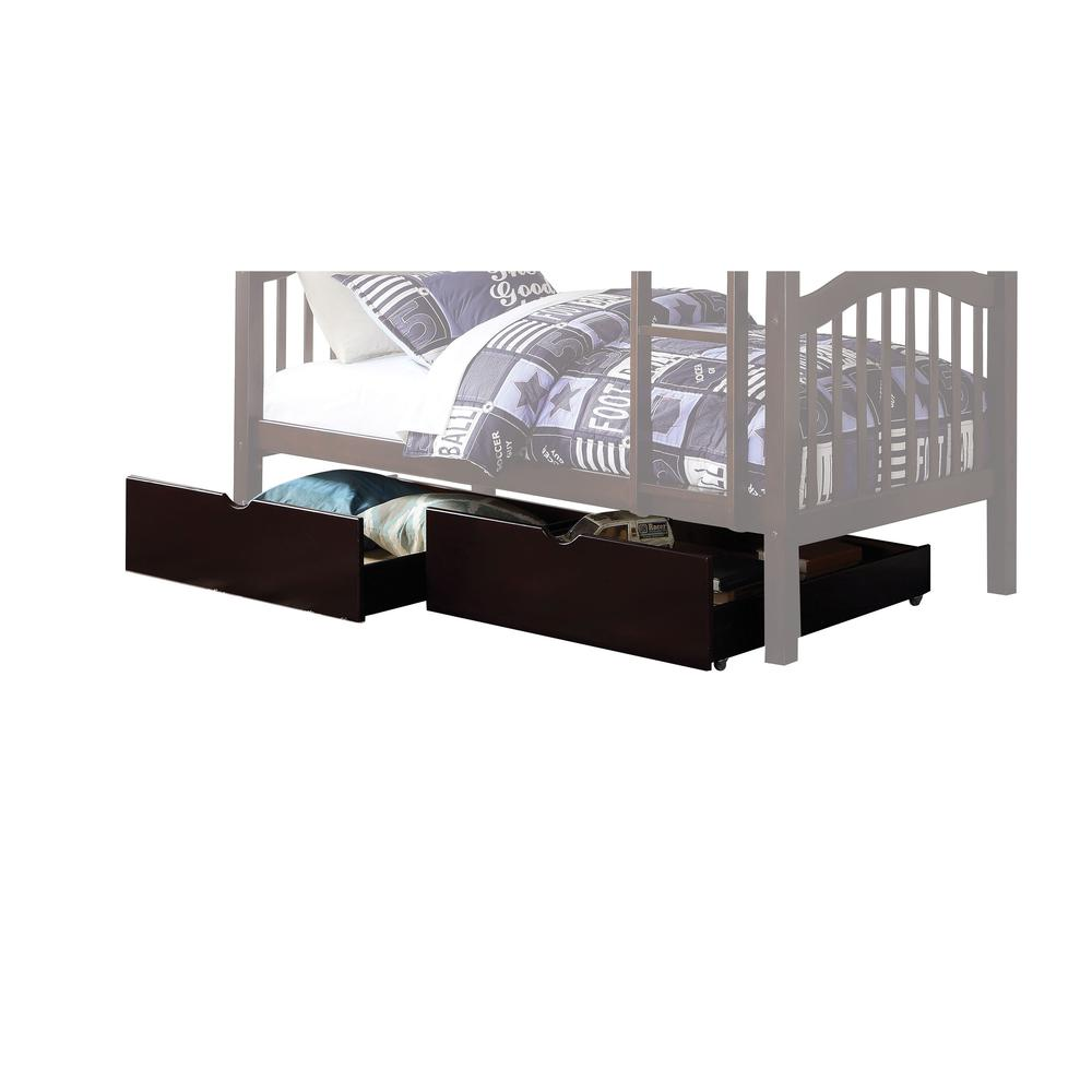 Heartland Twin/Twin Bunk Bed, Espresso (1Set/2Ctn). Picture 3