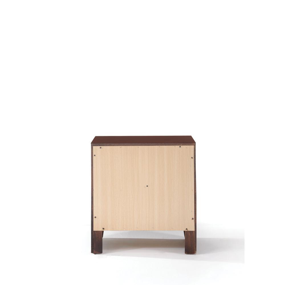 Ilana Queen Bed w/Storage, Brown PU & Brown Cherry, (1Set/3Ctn). Picture 8