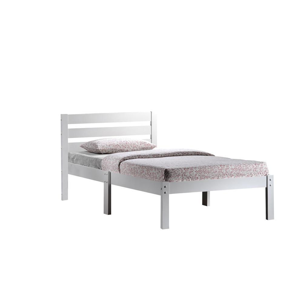 Donato Twin Bed, Cappuccino. Picture 3