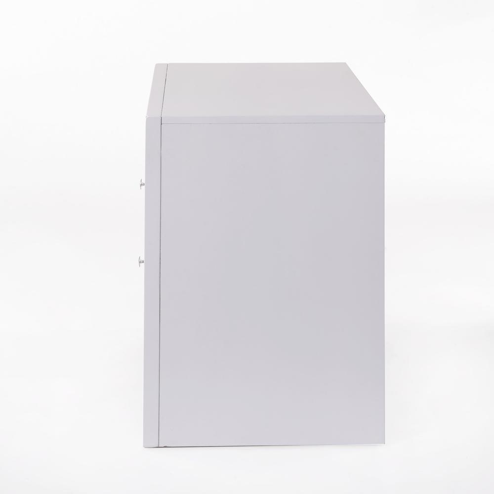 Ireland Queen Bed w/Storage, White (1Set/4Ctn). Picture 7
