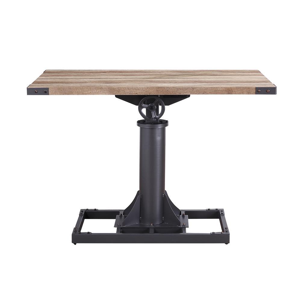 Baara Desk, Natural & Sandy Gray (1Set/2Ctn). Picture 2