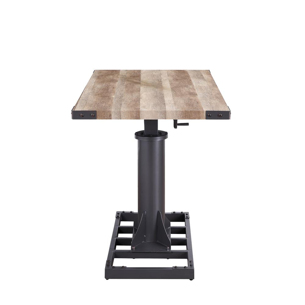 Baara Desk, Natural & Sandy Gray (1Set/2Ctn). Picture 3