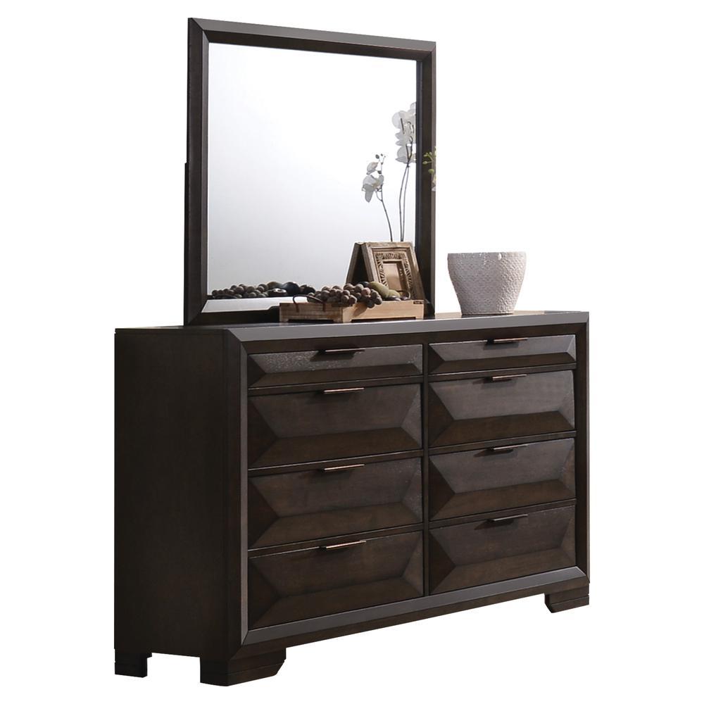 Merveille Mirror, Espresso. Picture 1