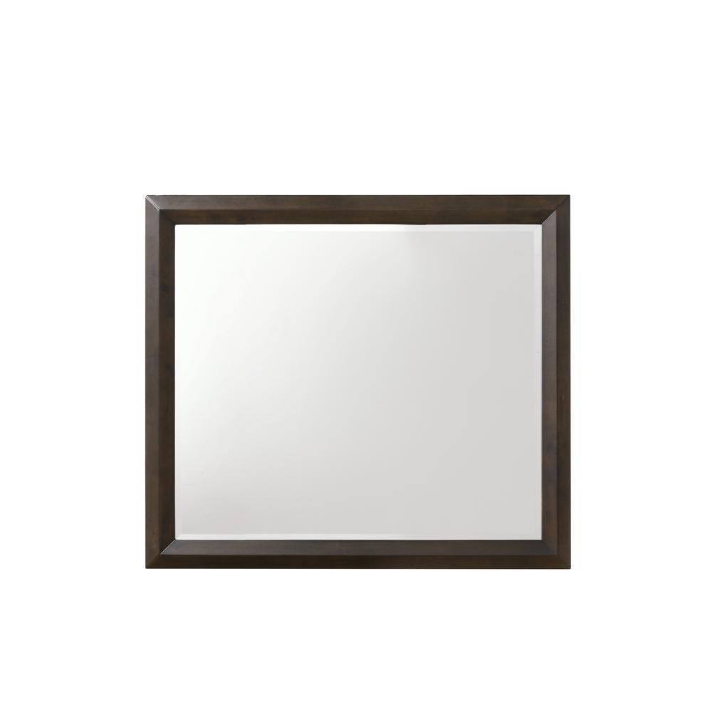 Merveille Mirror, Espresso. Picture 3