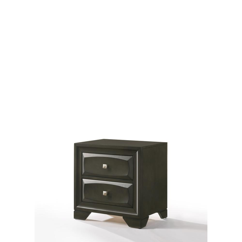Soteris Nightstand , Antique Gray. Picture 1