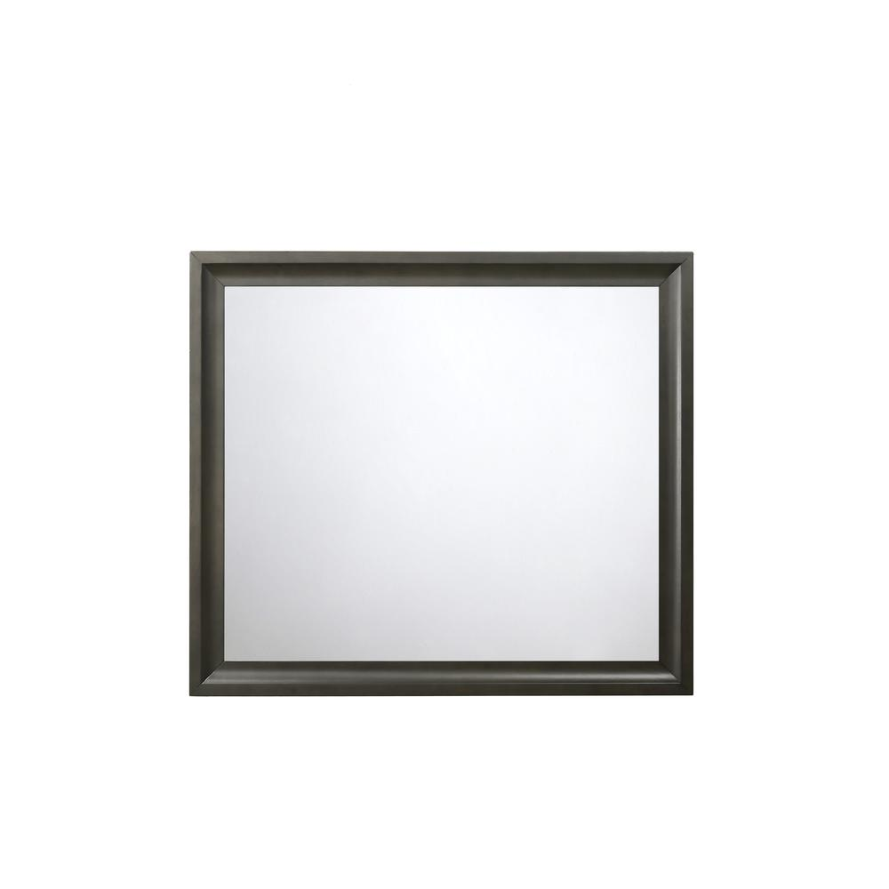 Soteris Mirror, Antique Gray. Picture 1