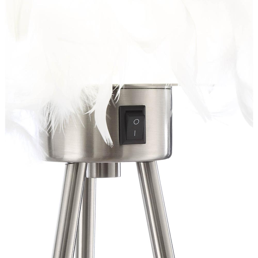 Aurinda Table Lamp, Sandy Nickel. Picture 14