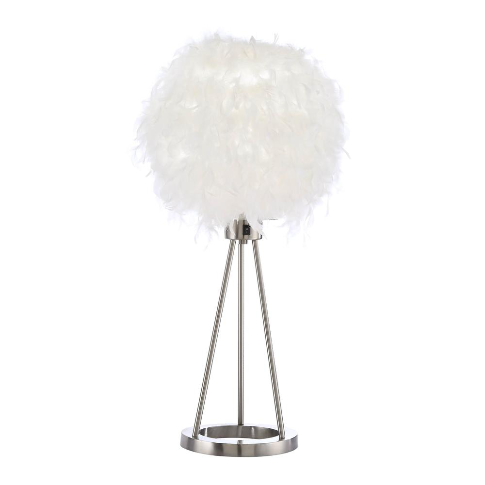 Aurinda Table Lamp, Sandy Nickel. Picture 16