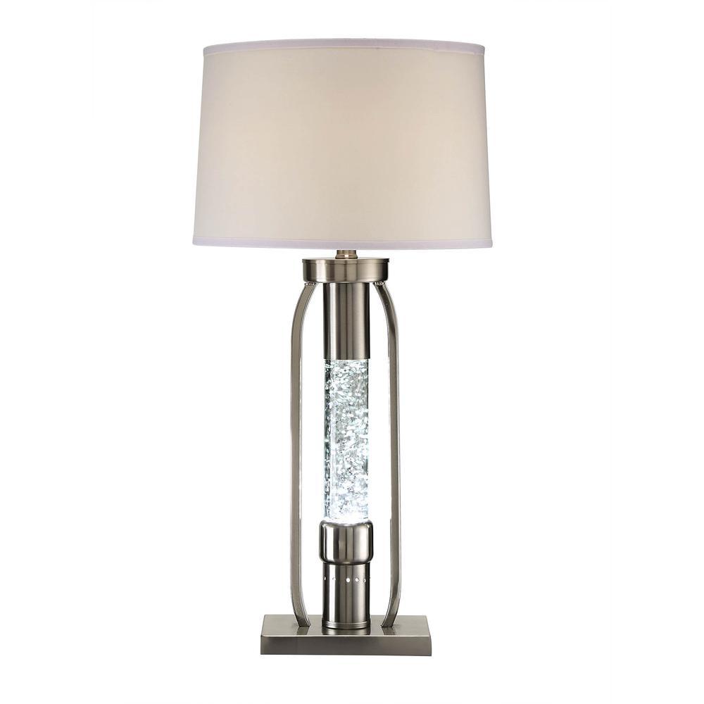 Aurinda Table Lamp, Sandy Nickel. Picture 21