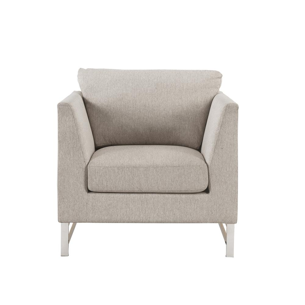 Varali Sofa w/2 Pillows, Beige Linen. Picture 12